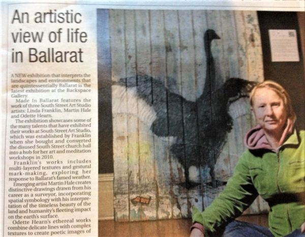 Courier Newspaper article 2013